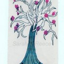 Magnolia Ink on Paper 145 x 95mm, Sold