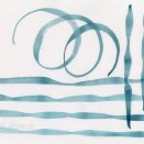 Swirls Ink on Paper A4