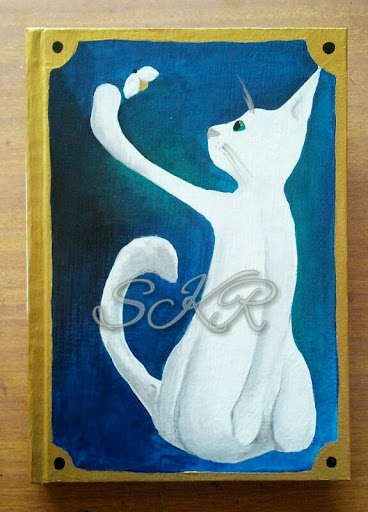 Cat art journal 1