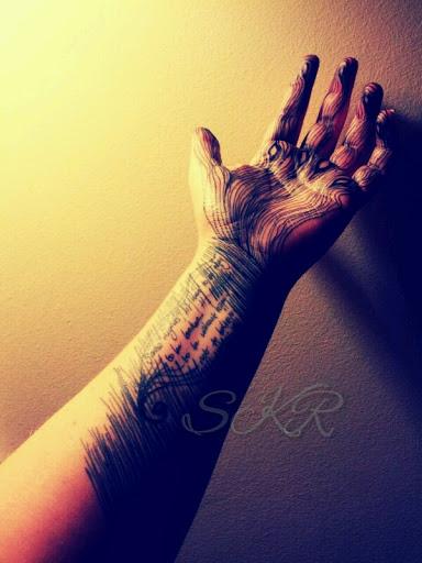 Wrist Poem - Broken 3