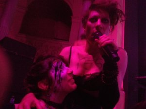 Christy and Amanda Palmer
