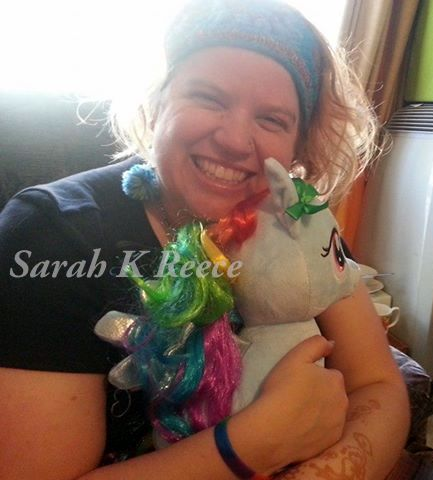 Sarah with pony