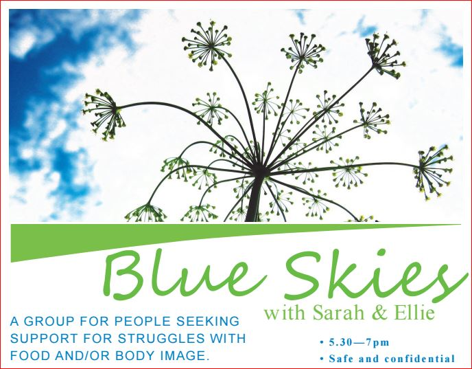 Blue skies snip